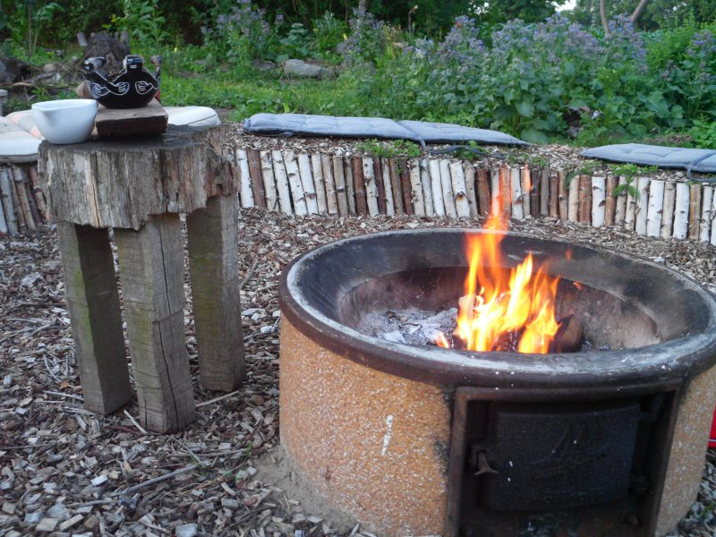 Feuer Ritualplatz